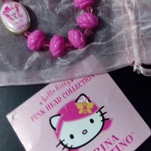 Tarina Tarantino Hello Kitty Pink Lolita Bracelet